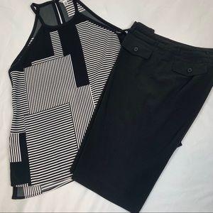 2 Pc- Calvin Klein Tank Sz M  & Shorts Sz 6